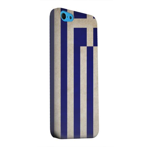 Geeks Designer Line (GDL) Apple iPhone 5C Matte Hard Back Cover - Grunge Greece