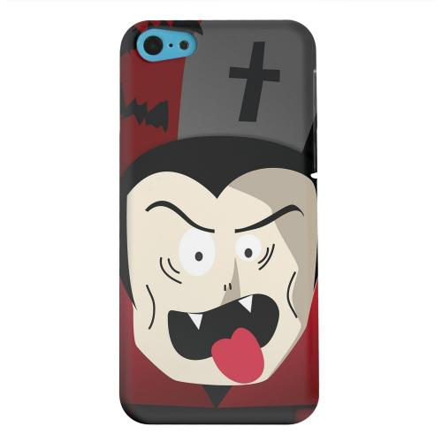 Geeks Designer Line (GDL) Apple iPhone 5C Matte Hard Back Cover - Immature Vampire
