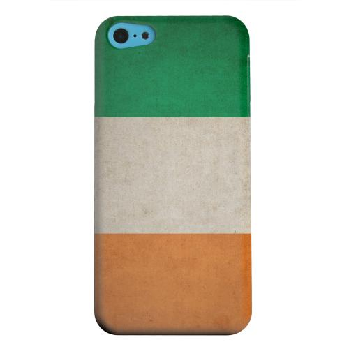 Geeks Designer Line (GDL) Apple iPhone 5C Matte Hard Back Cover - Grunge Ireland