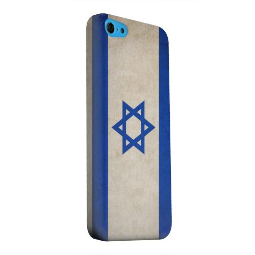 Geeks Designer Line (GDL) Apple iPhone 5C Matte Hard Back Cover - Grunge Israel
