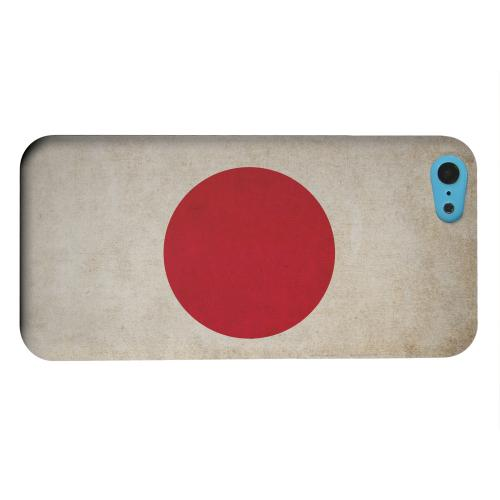 Geeks Designer Line (GDL) Apple iPhone 5C Matte Hard Back Cover - Grunge Japan