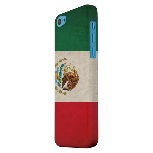 Geeks Designer Line (GDL) Apple iPhone 5C Matte Hard Back Cover - Grunge Mexico