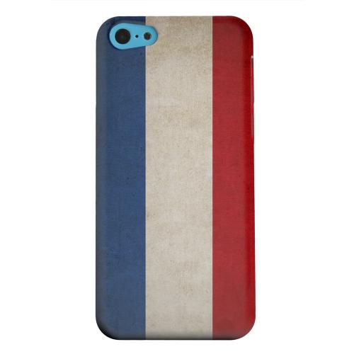 Geeks Designer Line (GDL) Apple iPhone 5C Matte Hard Back Cover - Grunge Netherlands
