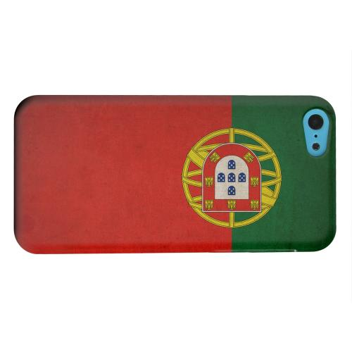 Geeks Designer Line (GDL) Apple iPhone 5C Matte Hard Back Cover - Grunge Portugal