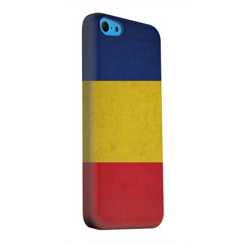 Geeks Designer Line (GDL) Apple iPhone 5C Matte Hard Back Cover - Grunge Romania