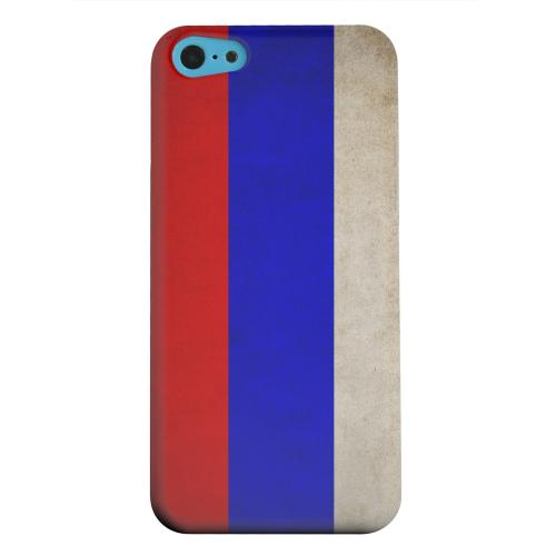 Geeks Designer Line (GDL) Apple iPhone 5C Matte Hard Back Cover - Grunge Russia