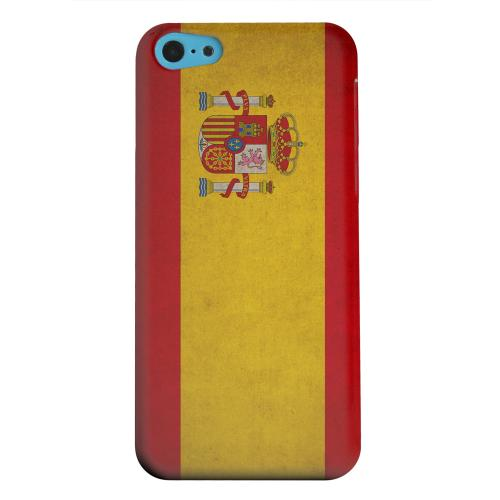 Geeks Designer Line (GDL) Apple iPhone 5C Matte Hard Back Cover - Grunge Spain