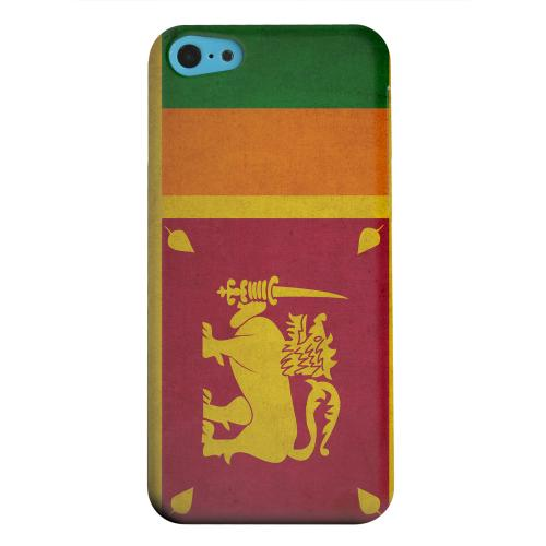 Geeks Designer Line (GDL) Apple iPhone 5C Matte Hard Back Cover - Grunge Sri Lanka