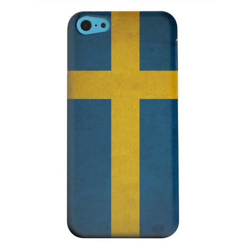 Geeks Designer Line (GDL) Apple iPhone 5C Matte Hard Back Cover - Grunge Sweden