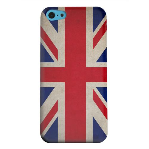 Geeks Designer Line (GDL) Apple iPhone 5C Matte Hard Back Cover - Grunge United Kingdom