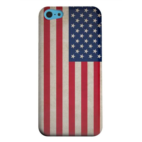 Geeks Designer Line (GDL) Apple iPhone 5C Matte Hard Back Cover - Grunge United States