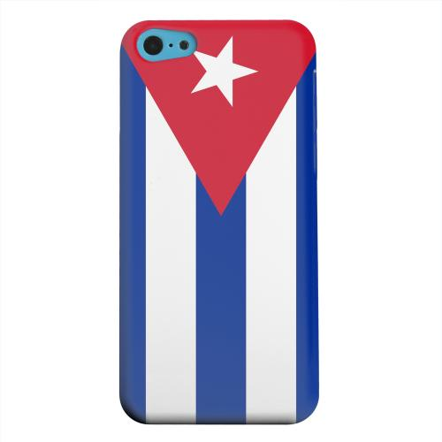 Geeks Designer Line (GDL) Apple iPhone 5C Matte Hard Back Cover - Cuba