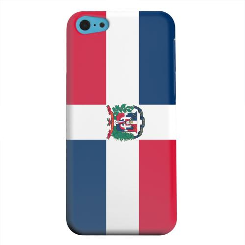 Geeks Designer Line (GDL) Apple iPhone 5C Matte Hard Back Cover - Dominican Republic