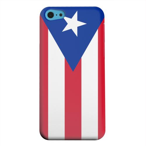 Geeks Designer Line (GDL) Apple iPhone 5C Matte Hard Back Cover - Puerto Rico