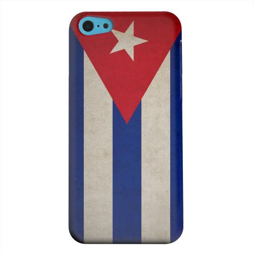 Geeks Designer Line (GDL) Apple iPhone 5C Matte Hard Back Cover - Grunge Cuba