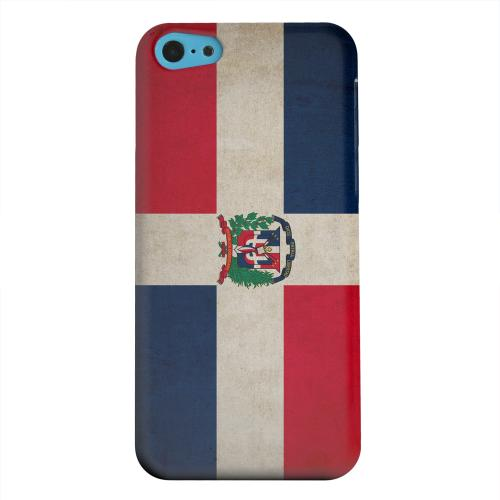 Geeks Designer Line (GDL) Apple iPhone 5C Matte Hard Back Cover - Grunge Dominican Republic