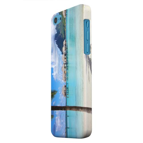 Geeks Designer Line (GDL) Apple iPhone 5C Matte Hard Back Cover - Bora Bora