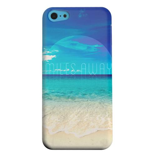 Geeks Designer Line (GDL) Apple iPhone 5C Matte Hard Back Cover - Miles Away