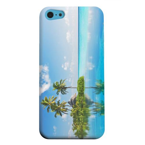 Geeks Designer Line (GDL) Apple iPhone 5C Matte Hard Back Cover - Tropical Paradise