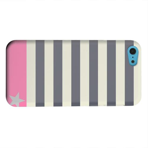 Geeks Designer Line (GDL) Apple iPhone 5C Matte Hard Back Cover - Bars & Stripes Forever
