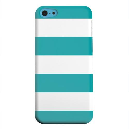 Geeks Designer Line (GDL) Apple iPhone 5C Matte Hard Back Cover - Big Aqua