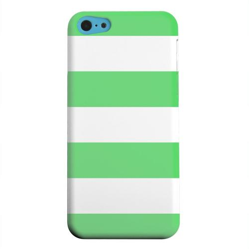 Geeks Designer Line (GDL) Apple iPhone 5C Matte Hard Back Cover - Big Green