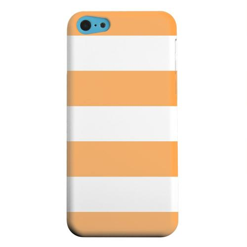 Geeks Designer Line (GDL) Apple iPhone 5C Matte Hard Back Cover - Big Orange