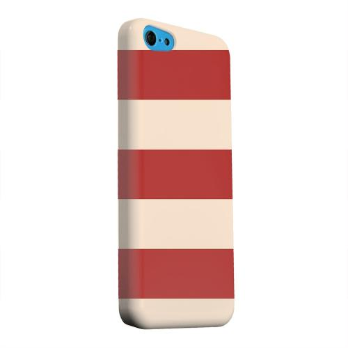 Geeks Designer Line (GDL) Apple iPhone 5C Matte Hard Back Cover - Linen Poppy Red