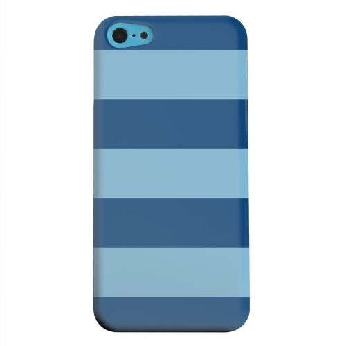 Geeks Designer Line (GDL) Apple iPhone 5C Matte Hard Back Cover - Monaco Blue/ Dusk Blue