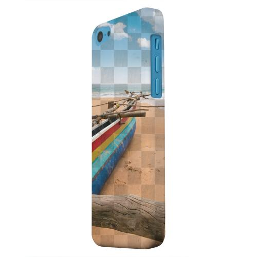 Geeks Designer Line (GDL) Apple iPhone 5C Matte Hard Back Cover - Beach Bum