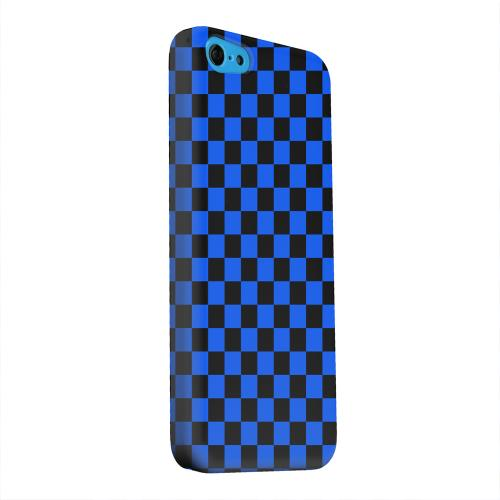 Geeks Designer Line (GDL) Apple iPhone 5C Matte Hard Back Cover - Blue/ Black