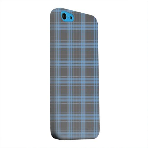 Geeks Designer Line (GDL) Apple iPhone 5C Matte Hard Back Cover - Blue/ Gray/ Pink Plaid