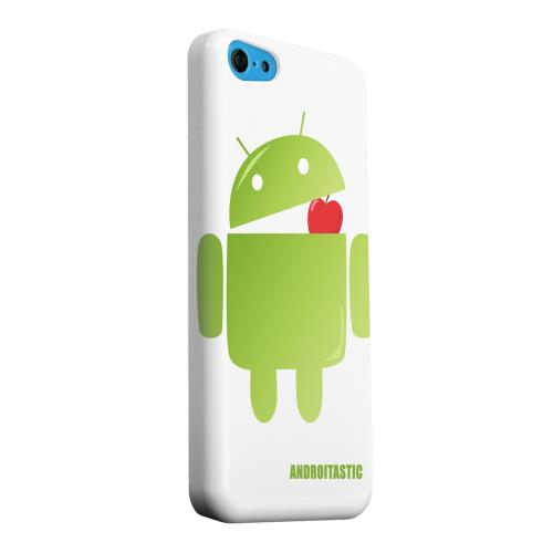 Geeks Designer Line (GDL) Apple iPhone 5C Matte Hard Back Cover - Robot Versus Apple