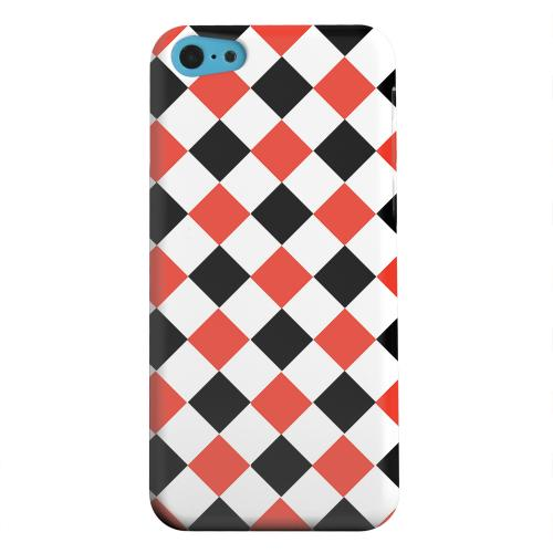 Geeks Designer Line (GDL) Apple iPhone 5C Matte Hard Back Cover - Charlatan