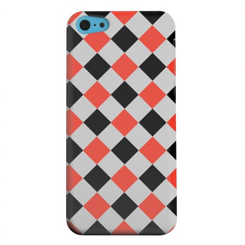 Geeks Designer Line (GDL) Apple iPhone 5C Matte Hard Back Cover - Charlatan on Gray