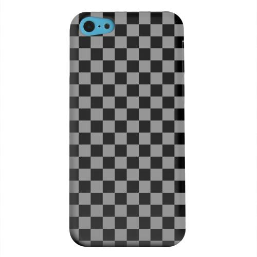 Geeks Designer Line (GDL) Apple iPhone 5C Matte Hard Back Cover - Gray/ Black
