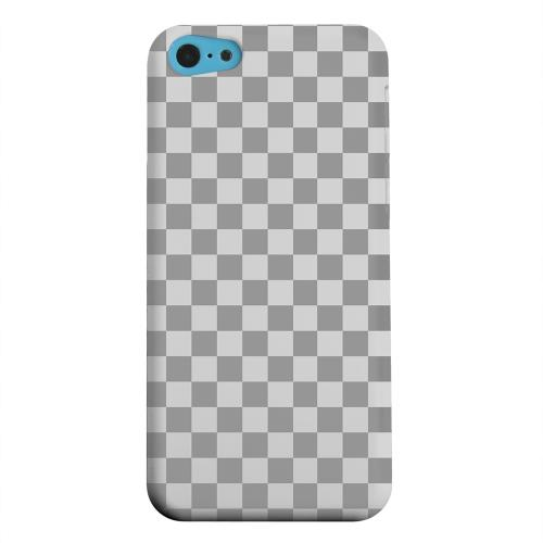 Geeks Designer Line (GDL) Apple iPhone 5C Matte Hard Back Cover - Gray/ Light Gray