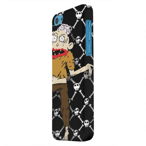 Geeks Designer Line (GDL) Apple iPhone 5C Matte Hard Back Cover - Zombie w/Skull & Crossbones