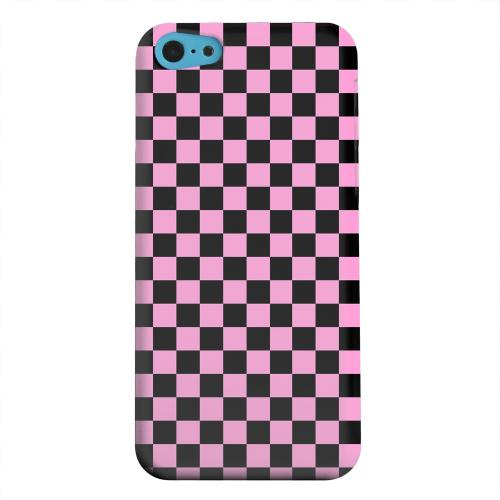 Geeks Designer Line (GDL) Apple iPhone 5C Matte Hard Back Cover - Pink/ Black
