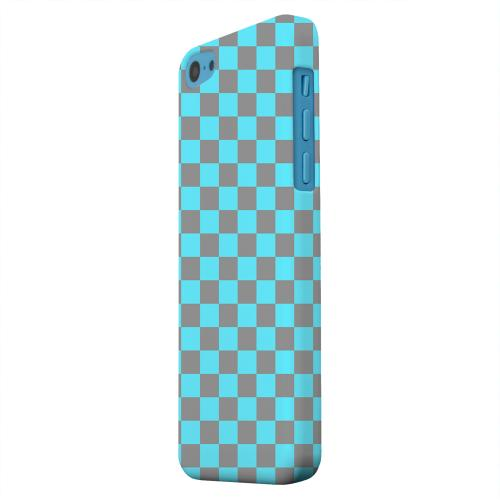 Geeks Designer Line (GDL) Apple iPhone 5C Matte Hard Back Cover - Teal/ Gray