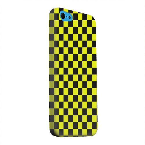 Geeks Designer Line (GDL) Apple iPhone 5C Matte Hard Back Cover - Yellow/ Black