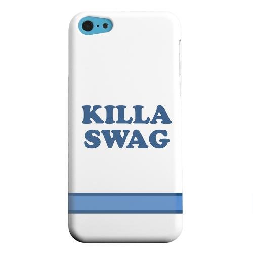 Geeks Designer Line (GDL) Apple iPhone 5C Matte Hard Back Cover - Killa Swag