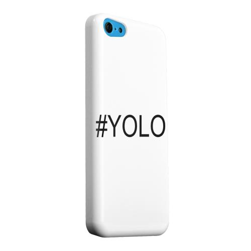 Geeks Designer Line (GDL) Apple iPhone 5C Matte Hard Back Cover - #YOLO