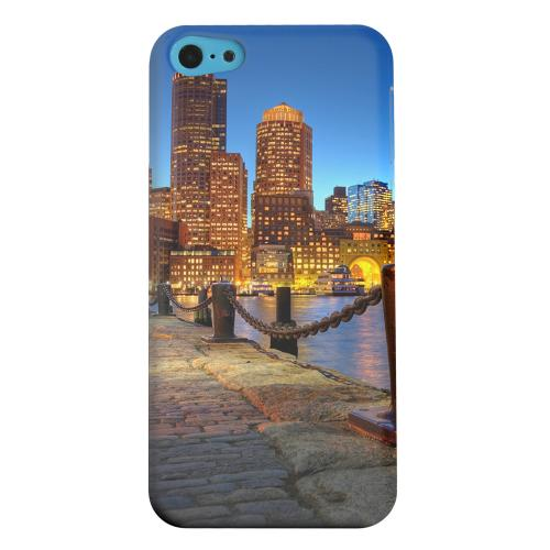 Geeks Designer Line (GDL) Apple iPhone 5C Matte Hard Back Cover - Boston