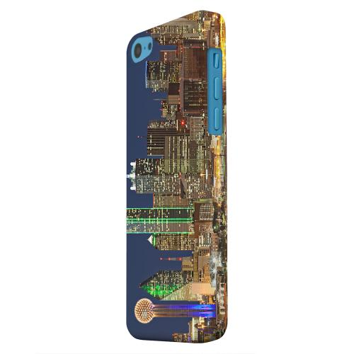 Geeks Designer Line (GDL) Apple iPhone 5C Matte Hard Back Cover - Dallas