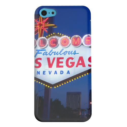 Geeks Designer Line (GDL) Apple iPhone 5C Matte Hard Back Cover - Las Vegas