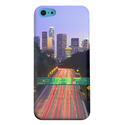 Geeks Designer Line (GDL) Apple iPhone 5C Matte Hard Back Cover - Los Angeles