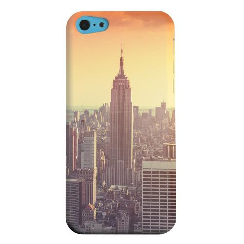 Geeks Designer Line (GDL) Apple iPhone 5C Matte Hard Back Cover - New York