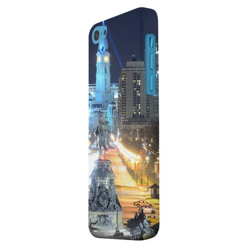 Geeks Designer Line (GDL) Apple iPhone 5C Matte Hard Back Cover - Philadelphia