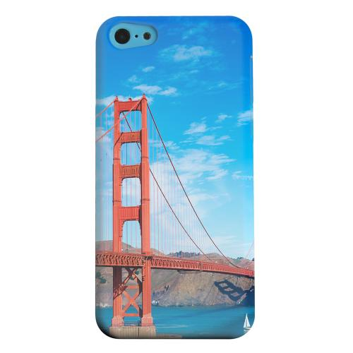 Geeks Designer Line (GDL) Apple iPhone 5C Matte Hard Back Cover - San Francisco